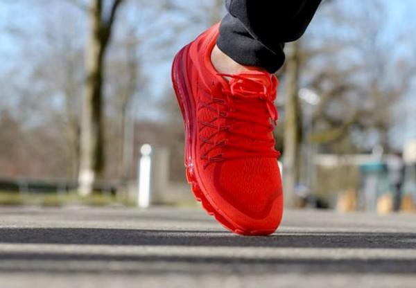 """Nike Air Max 2015 """"Bright Crimson"""" 3"""