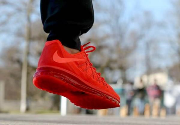 """Nike Air Max 2015 """"Bright Crimson"""" 4"""