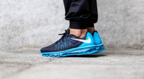 Nike Air Max 2015 – Dark Obsidian / White – Blue Lagoon – Copa