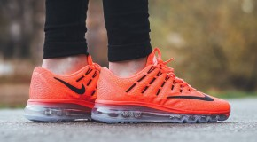 Nike Air Max 2016 GS – Bright Crimson/Black-Gym Red-Volt