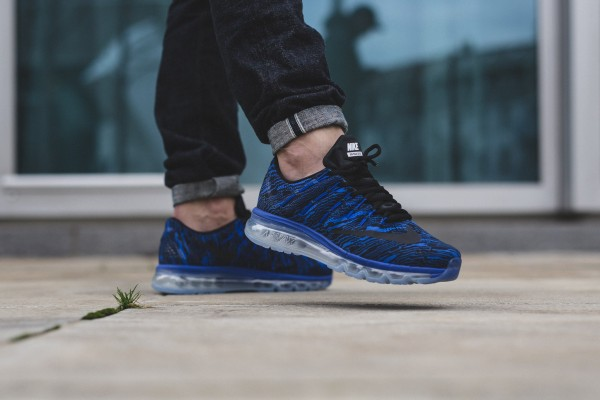 Nike Air Max 2016 Print - Racer Blue/Black 2