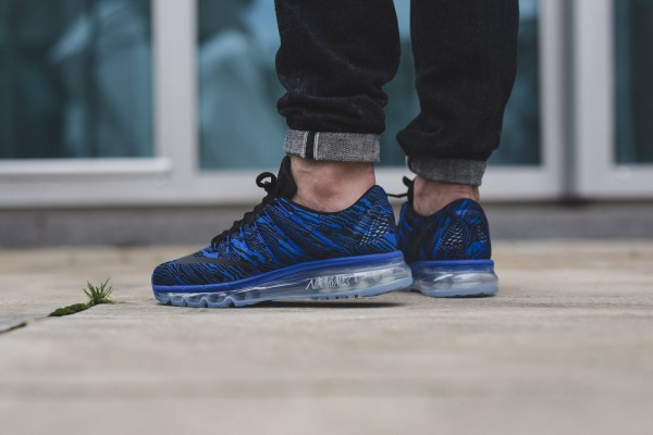 Nike Air Max 2016 Print - Racer Blue/Black 3