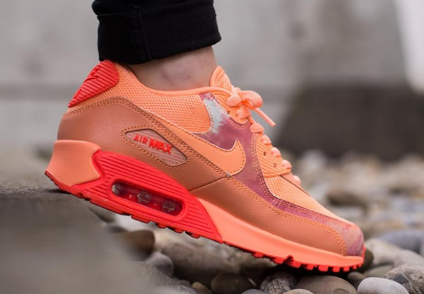 "Nike Air Max 90 ""Air Brush"" Pack - Sunset Glow 2"