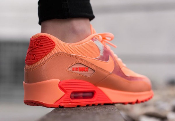 "Nike Air Max 90 ""Air Brush"" Pack - Sunset Glow 4"