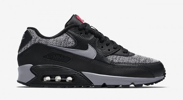 Nike Air Max 90 Essential - Black/Cool Grey-Anthracite-University Red 8
