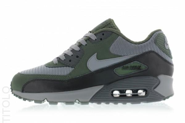 Nike Air Max 90 Essential - Cool Grey/Clear Grey-Black-Carbon Green 4