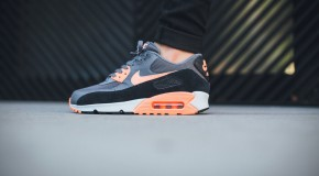 Nike Air Max 90 Essential – Dark Grey/Sunset Glow