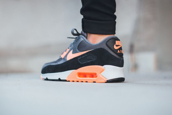Nike Air Max 90 Essential - Dark Grey/Sunset Glow 3