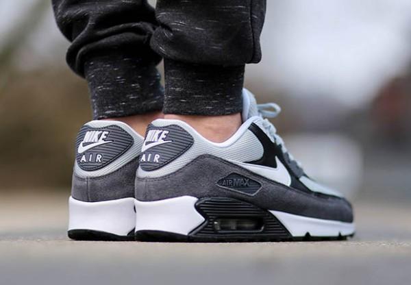 Nike Air Max 90 Essential - Grey Mist / White - Dark Grey 2