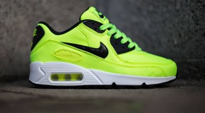 Nike Air Max 90 FB GS – Volt / Black – Electric Green – Liquid Lime