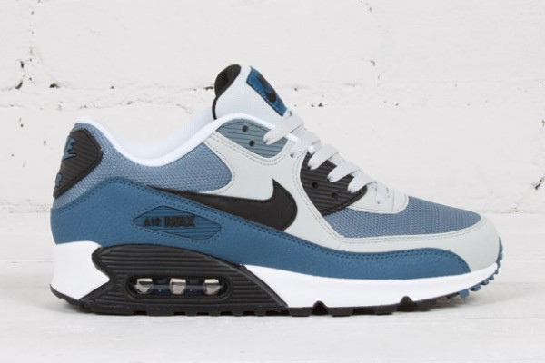 Nike Air Max 90 - Grey Mist / New Slate - Blue Graphite - Black 2