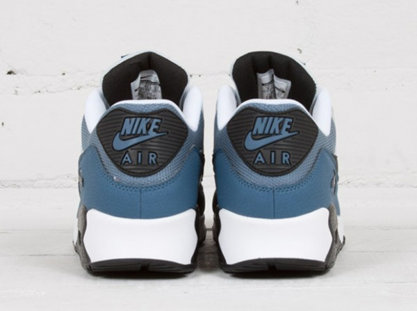 Nike Air Max 90 - Grey Mist / New Slate - Blue Graphite - Black 4