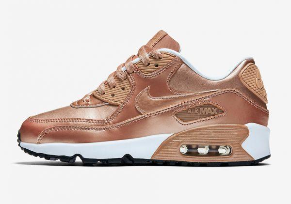 Nike Air Max 90 GS - Metallic Red Bronze 2