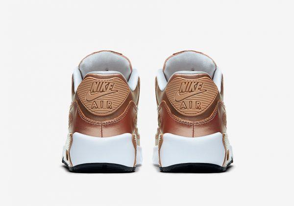 Nike Air Max 90 GS - Metallic Red Bronze 4