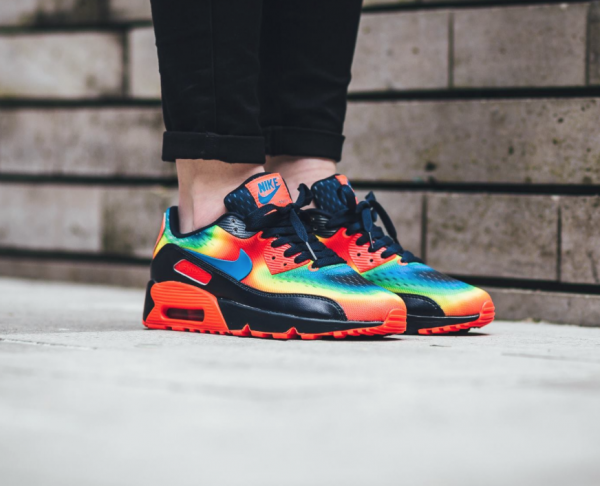 "Nike Air Max 90 GS QS ""Heat Map"" Pack 3"