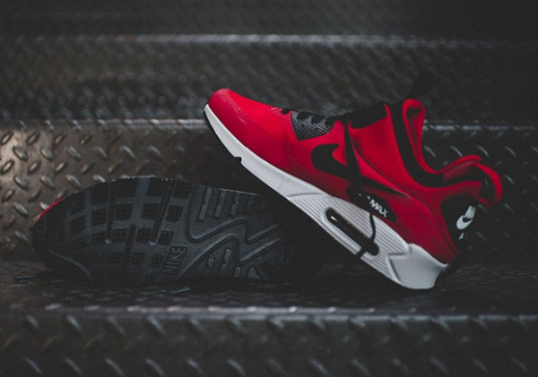 Nike Air Max 90 Mid Winter - Gym Red/Black-Wolf Grey 4