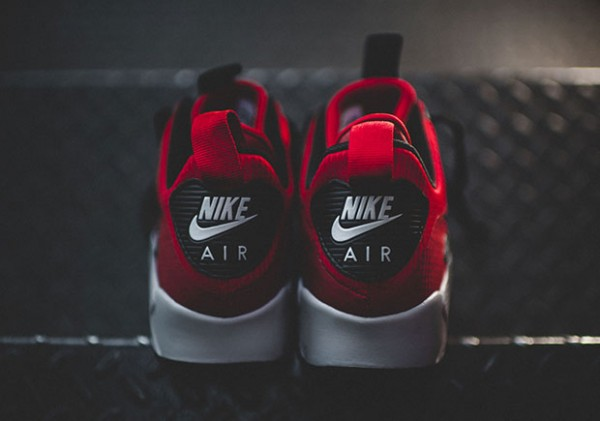 Nike Air Max 90 Mid Winter - Gym Red/Black-Wolf Grey 5