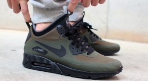 Nike Air Max 90 Mid WNTR – Dark Loden / Black – Dark Grey