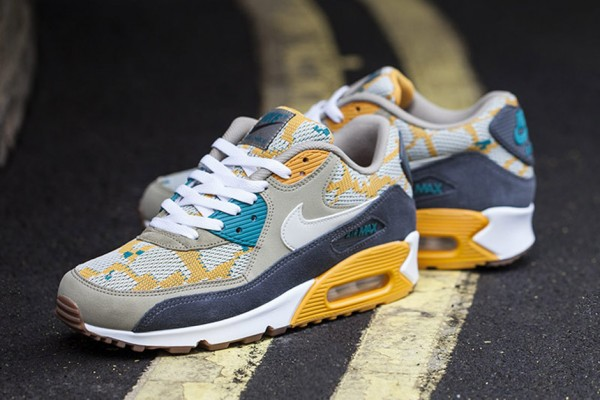 Nike Air Max 90 PA - Gold/Light Bon 2