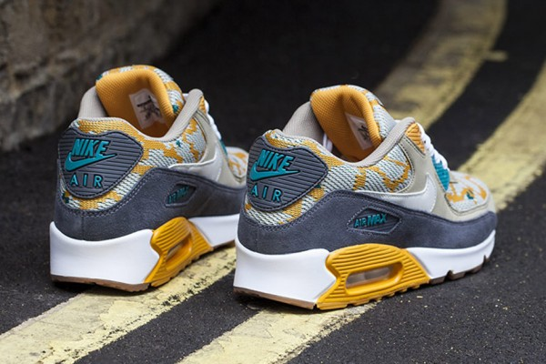 Nike Air Max 90 PA - Gold/Light Bon 4