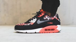 Nike Air Max 90 PA – Hot Lava / Dark Grey – Black – Light Bone