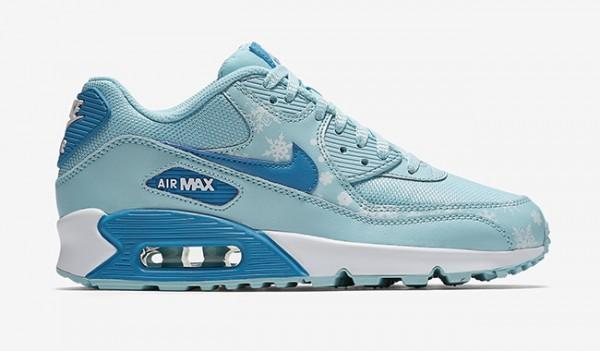 """Nike Air Max 90 Premium Mesh """"Snowflake"""" 2"""