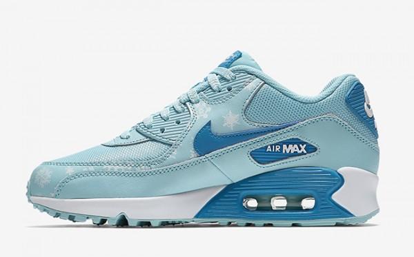 """Nike Air Max 90 Premium Mesh """"Snowflake"""" 3"""