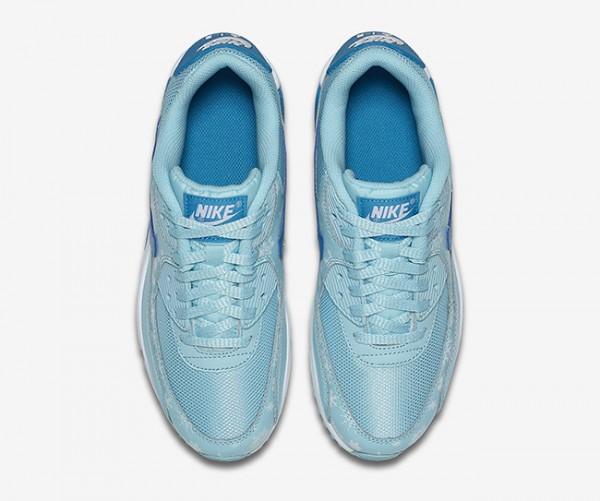 """Nike Air Max 90 Premium Mesh """"Snowflake"""" 4"""