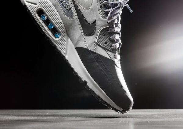 Nike Air Max 90 Premium SE - Wolf Grey/Anthracite-Cool Grey 3