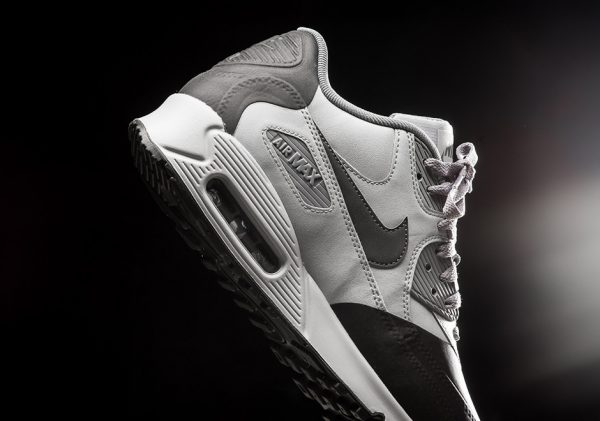 Nike Air Max 90 Premium SE - Wolf Grey/Anthracite-Cool Grey 4