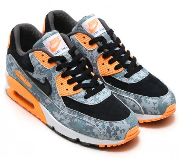 """Nike Air Max 90 PRM """"Blue Digi Camo"""" 2"""