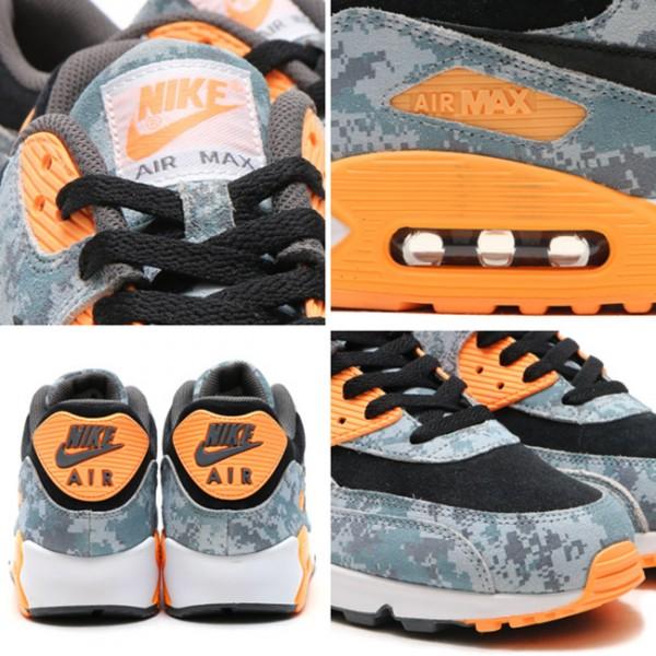 """Nike Air Max 90 PRM """"Blue Digi Camo"""" 6"""