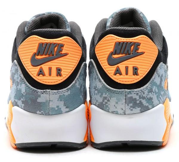 """Nike Air Max 90 PRM """"Blue Digi Camo"""" 7"""