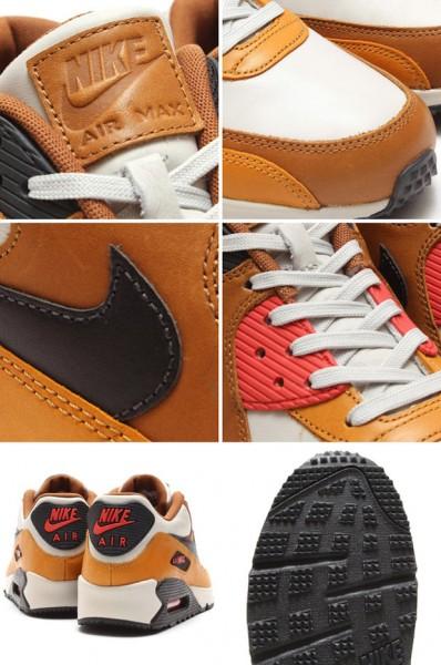 Nike Air Max 90 QS - Light Bone / Black Pine - Ale Brown 3