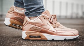 Nike Air Max 90 SE LTR GS – Metallic Red Bronze