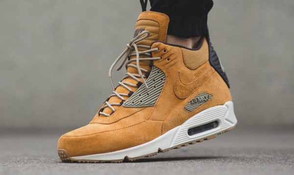 Nike Air Max 90 Sneakerboot Winter - Bronze/Black-Bamboo-Bl Ribbon 3