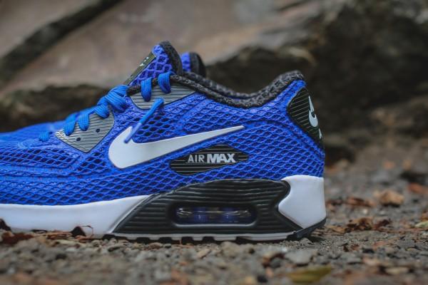 Nike Air Max 90 Ultra BR Plus QS - Racer Blue / Black 2