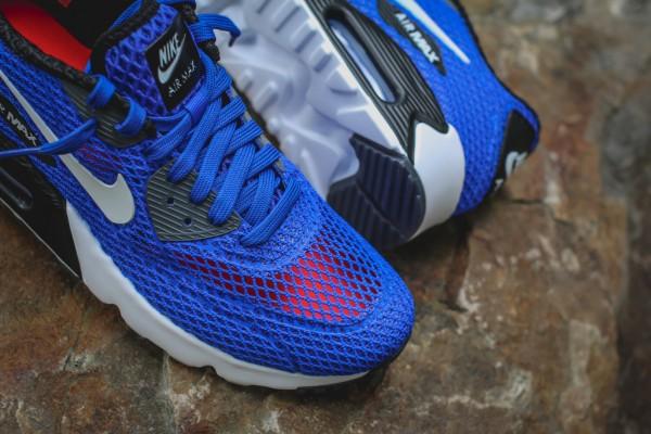 Nike Air Max 90 Ultra BR Plus QS - Racer Blue / Black 4