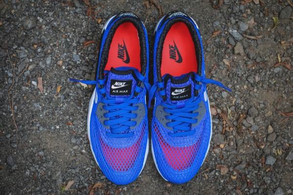 Nike Air Max 90 Ultra BR Plus QS - Racer Blue / Black 5