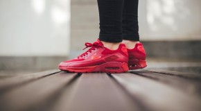 Nike Air Max 90 Ultra Essential – Gym Red/University Red