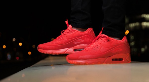 Nike Air Max 90 Ultra Moire - Bright Crimson 2