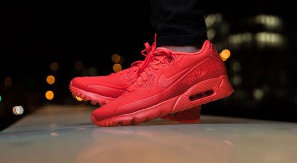 Nike Air Max 90 Ultra Moire - Bright Crimson 3