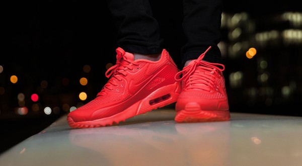 Nike Air Max 90 Ultra Moire - Bright Crimson 4