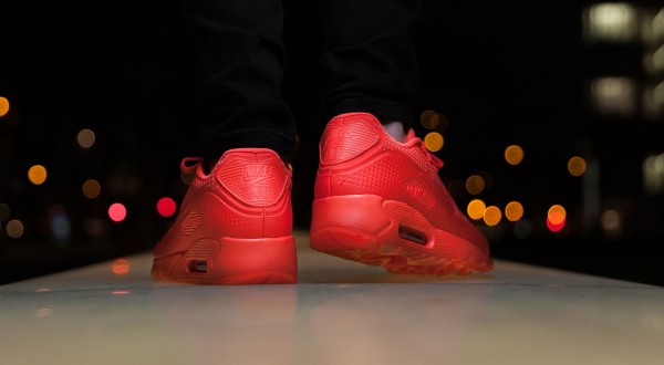 Nike Air Max 90 Ultra Moire - Bright Crimson 5