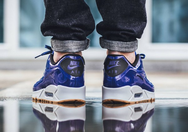 Nike Air Max 90 VT - Deep Royal Blue / Wolf Grey 3