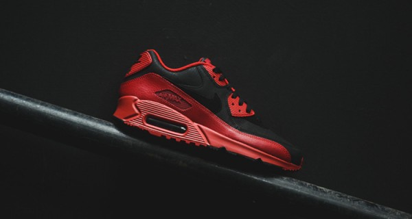Nike Air Max 90 Winter PRM - Gym Red/Black 11