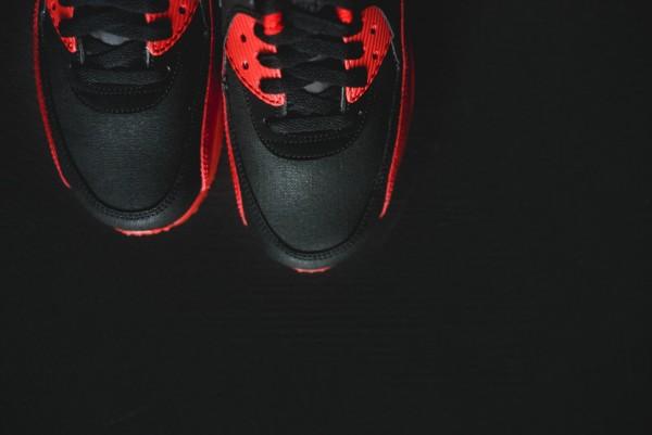 Nike Air Max 90 Winter PRM - Gym Red/Black 16