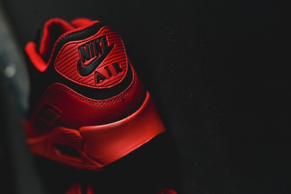 Nike Air Max 90 Winter PRM - Gym Red/Black 17