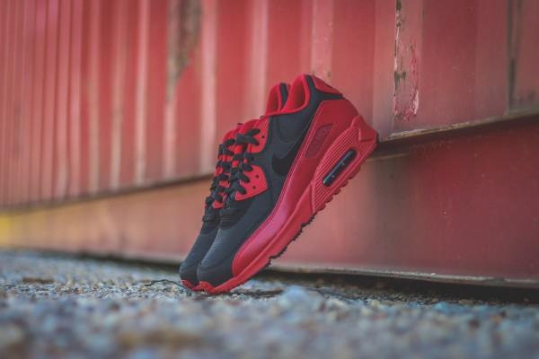Nike Air Max 90 Winter PRM - Gym Red/Black 2