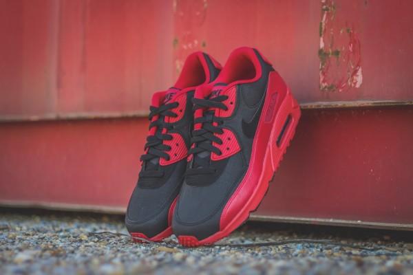 Nike Air Max 90 Winter PRM - Gym Red/Black 3